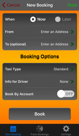 Booking Options