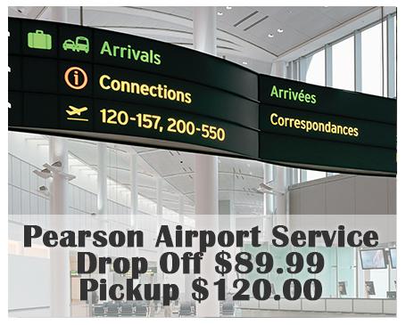 Pearson airport service